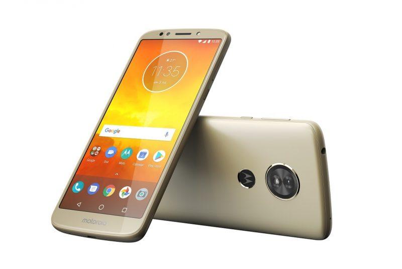 El Moto E5, abandonado por Motorola a los 3 meses de lanzamiento.