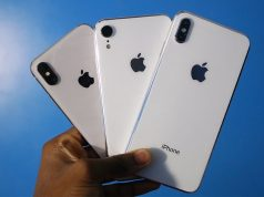 El iPhone Xs, el iPhone 2018, y el iPhone Xs Max.