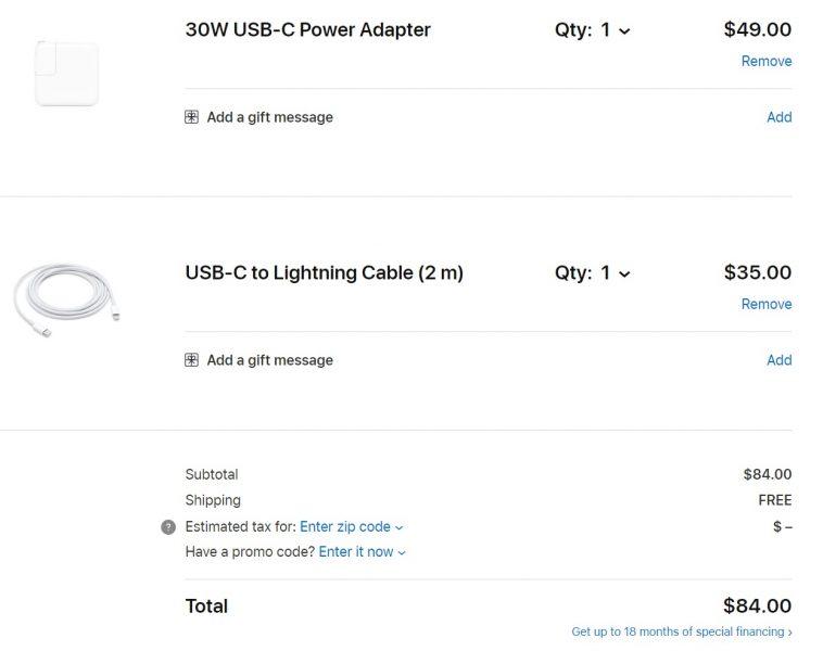 Este es el costo de agregar carga rápida a nuestro iPhone