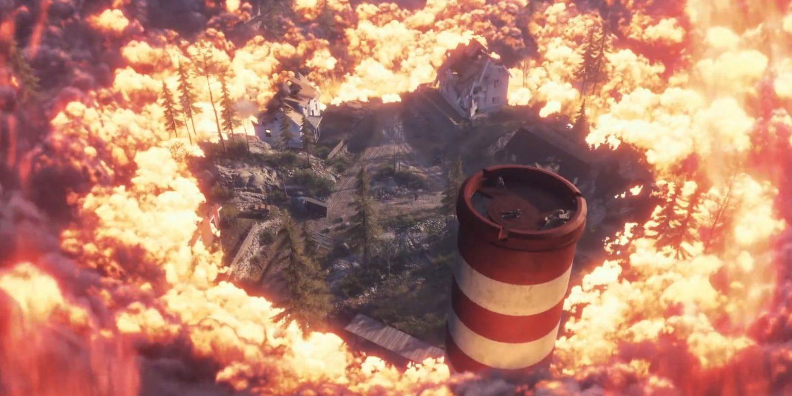 La tormenta de fuego (Firestorm) de Battlefield V.