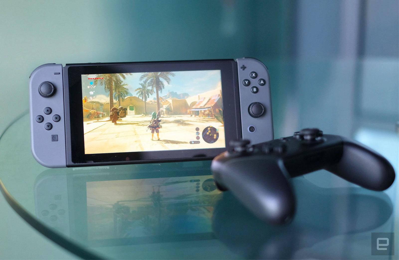 Switch, la consola estrella de Nintendo.