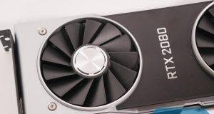 La nueva Nvidia GeForce RTX 2080.