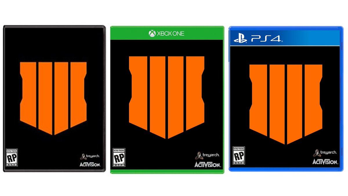 Las cajas de las versiones físicas de Call Of Duty: Black Ops 4.