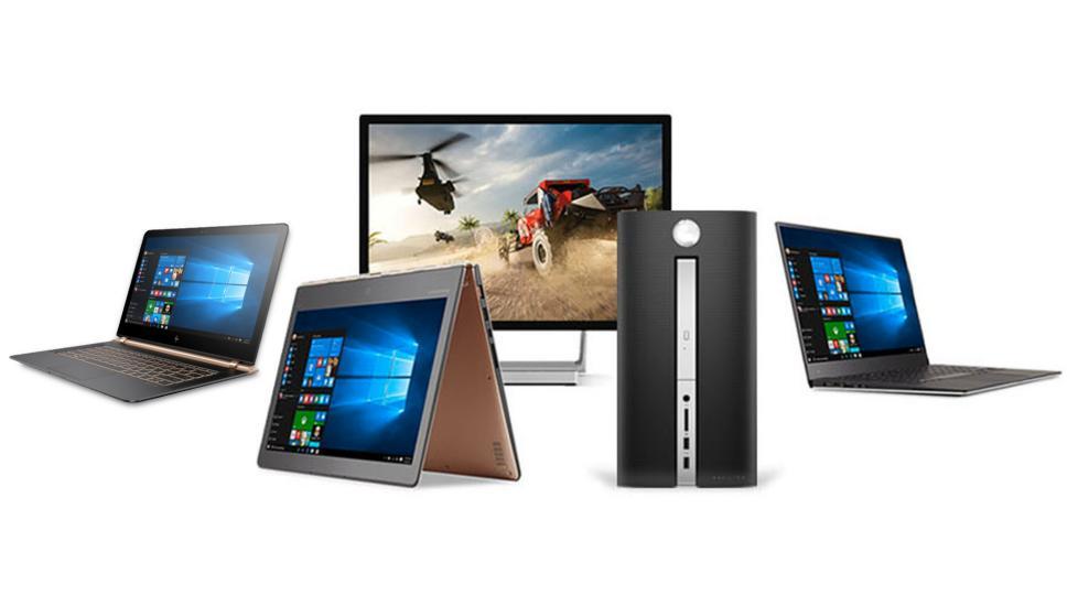 Algunos de los dispositivos Intel con Windows 10 soportados por el driver.