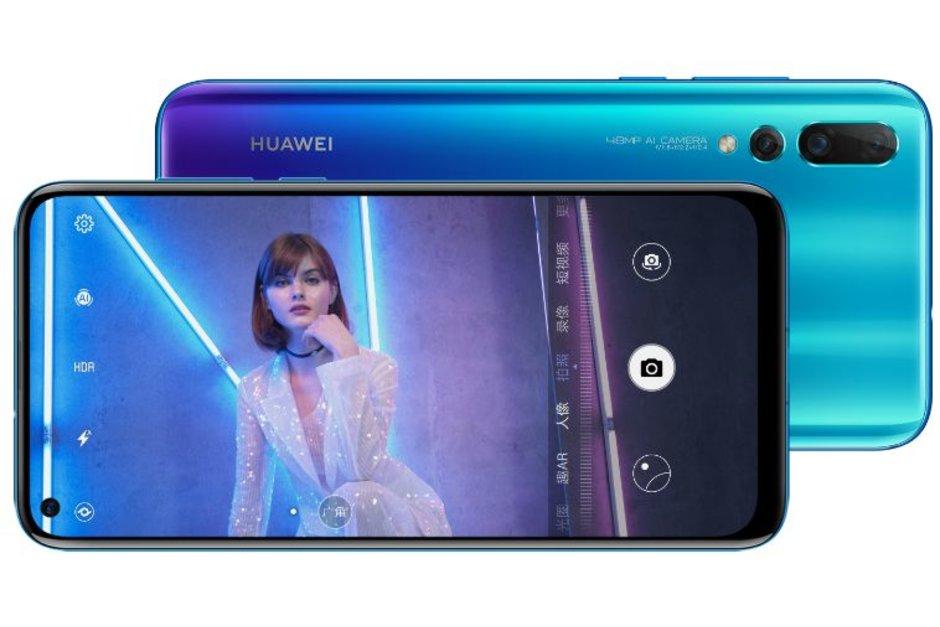 Conozcan al Huawei Nova 4 y su pantalla perforada