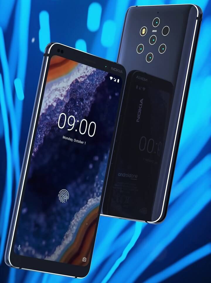 El Nokia 9 PureView sin dudas dará que hablar con sus 5 cámaras traseras.