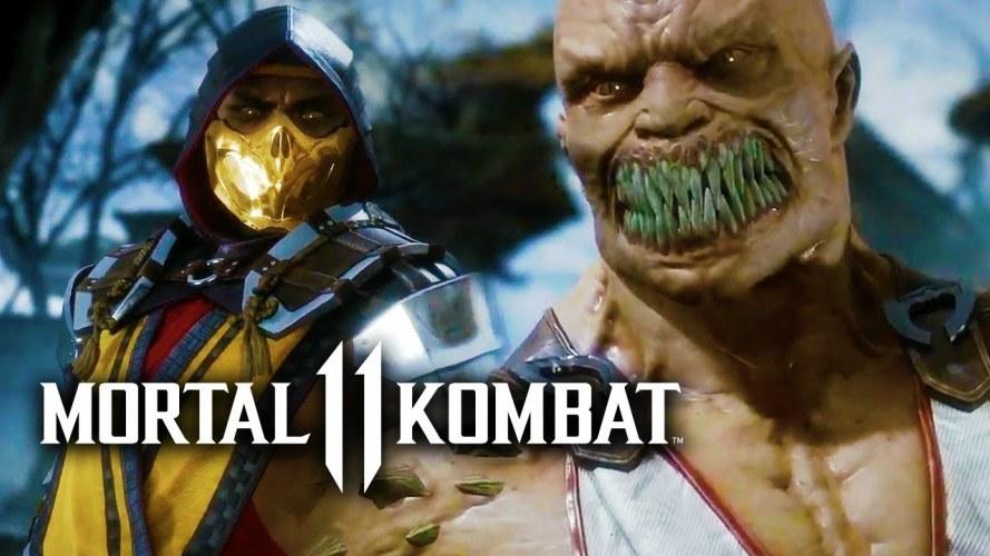 Resultado de imagen para mortal kombat 11 lanzamiento