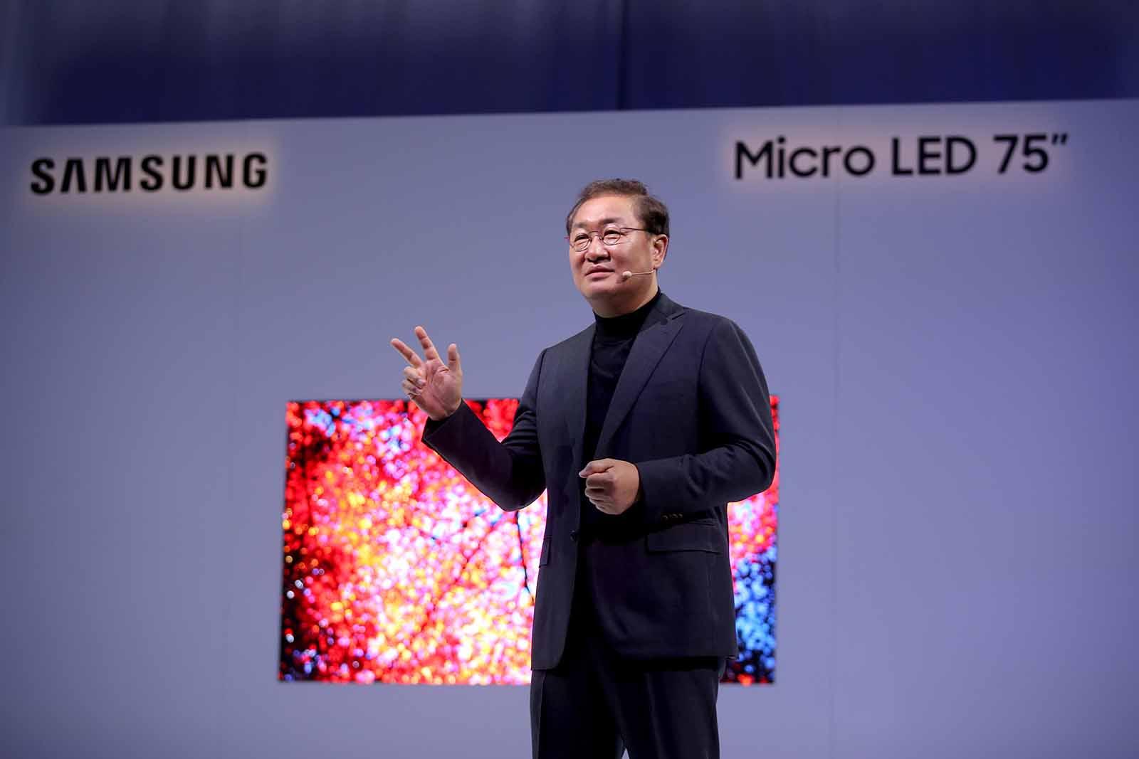 [CES2019] Samsung Presenta sus Nuevas Pantallas con Tecnología MicroLED Modular