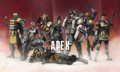 Las 8 leyendas actuales de Apex Legends.