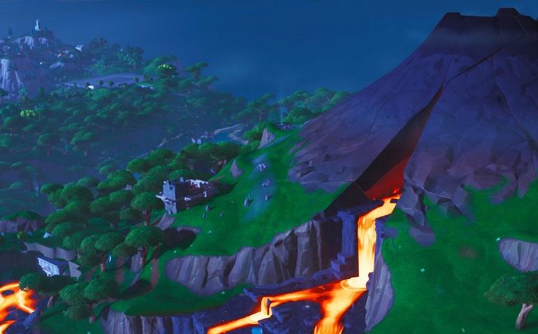 Mapa Temporada 8 Fortnite.El Mapa De La Temporada 8 De Fortnite Agrega Un Volcan