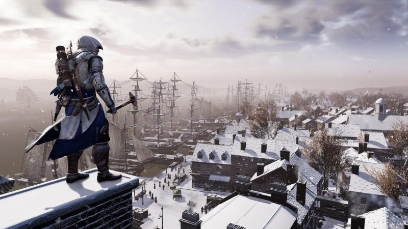 Así se ve Assassin's Creed III Remastered comparado con su versión original