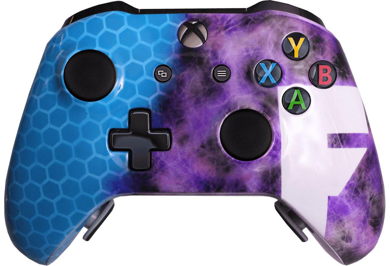 El control de Fortnite para Xbox One de Evil Controllers.