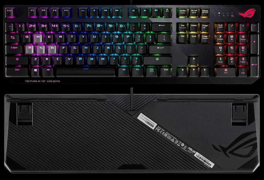 78ef4cda6d44 Asus está lanzando su nuevo teclado mecánico ROG Strix Scope, que  anunciaron por primera vez en el CES 2019. Este teclado utiliza los  clásicos y duraderos ...