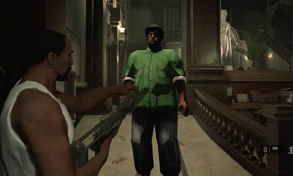 Un Nuevo Mod De Resident Evil 2 Remake Anade A Cj Y Big Smoke