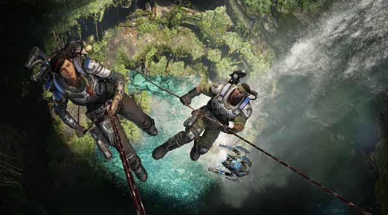 Gears of War 5 llega oficialmente a Steam
