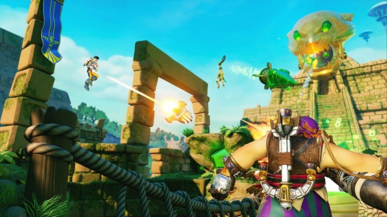 gran profundidad al jugar Rocket Arena jugar