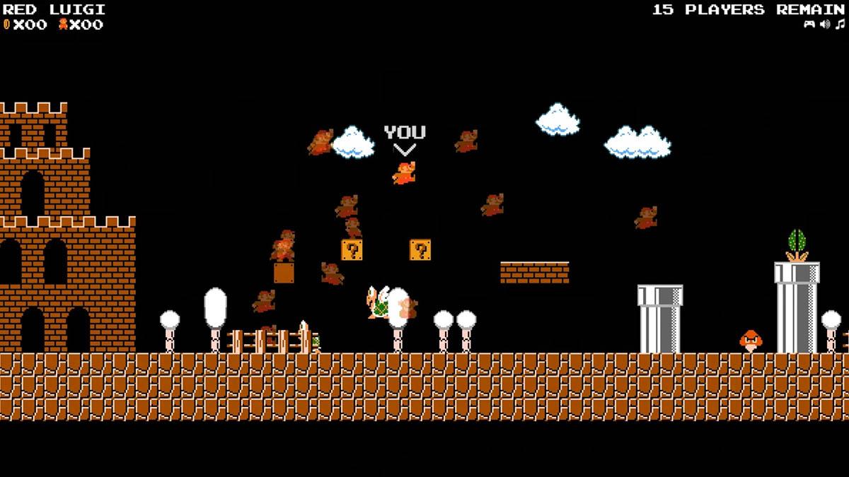 Fan crea versión Battle Royale de Super Mario Bros