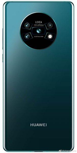 Así se vería el nuevo Huawei Mate 30 Pro.