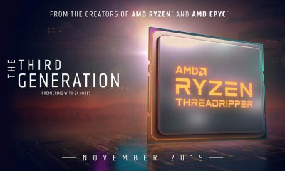 AMD confirmó que Threadripper 3000 llegará en Noviembre.