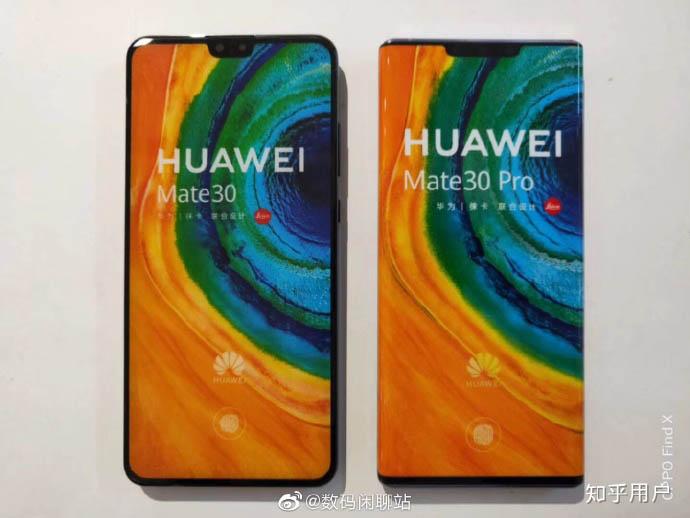 El Huawei Mate 30 y el Mate 30 Pro, los dos nuevos tope de línea de Huawei.
