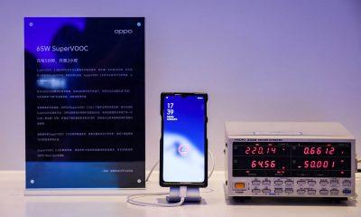 La nueva tecnología SuperVOOC 2.0 permite utilizar un cargador de 65W para cargar nuestro celular en solo media hora.