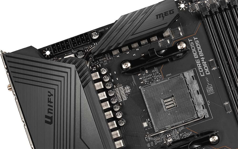 La MSI X570 UNIFY, totalmente libre de RGB.