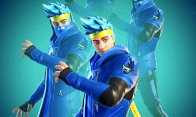 El reconocido streamer de Fortnite, Ninja, acaba de llegar al Battle Royale de Epic Games, literalmente.
