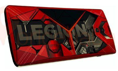 Diseño filtrado del próximo teléfono insignia de la línea Legion.