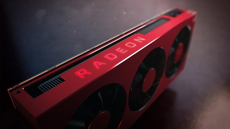 "Radeon RX 6000 ""Big Navi"" de AMD gamer"
