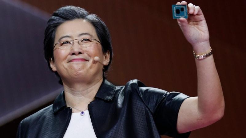 Lisa Su, CEO de AMD, anunció que el suministro de chips será 'bastante escaso' hasta 2022.